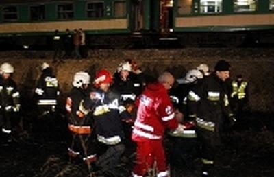 Katastrofa kolejowa k. Zawiercia. Są zabici i ranni