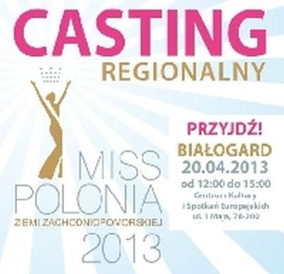 Miss Polonia Casting w Białogardzie