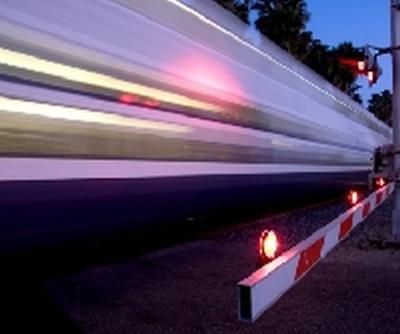 Wypadek - przejazd kolejowy