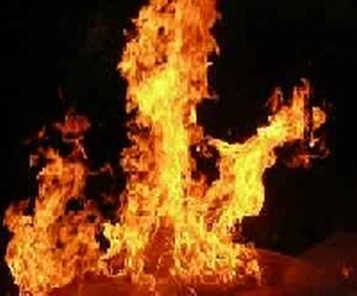 Walka z pożarem !