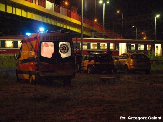 Pociąg potrącił mężczyznę w Białogardzie