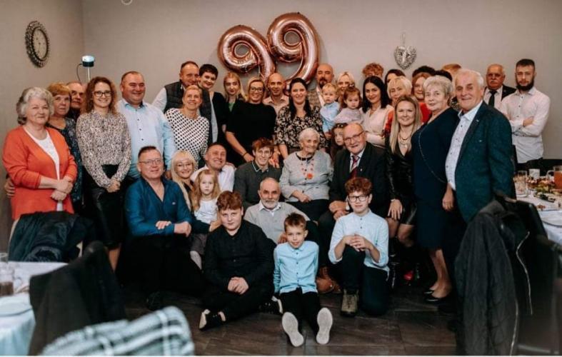 Mieszkanka gminy Białogard ukończyła 99 lat!