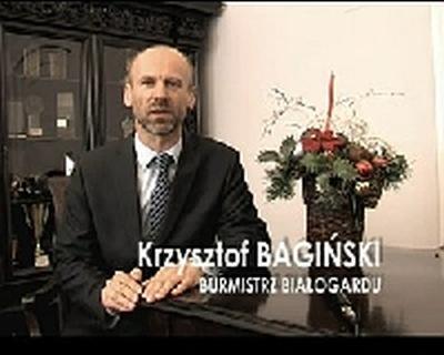 Życzenia Burmistrza Białogardu