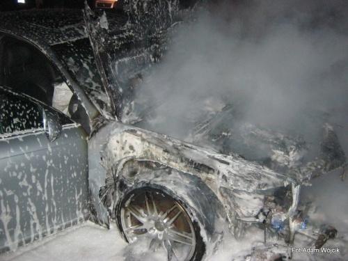 Pożar samochodu