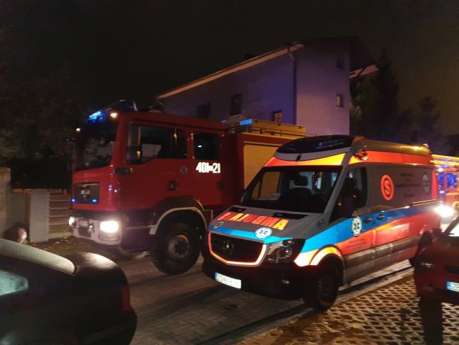 Pożar w kotłowni przydomowego warsztatu w Białogardzie.