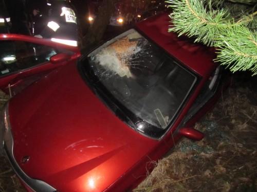 Wypadek w Lubiechowie