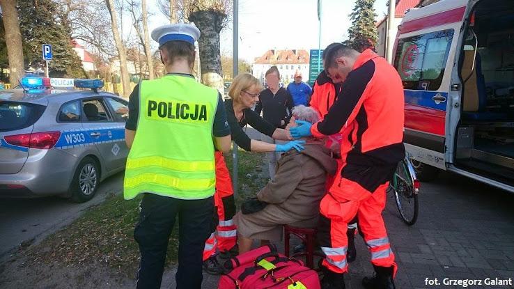 Pijany kierowca skutera potrącił na pasach 72-letnią kobietę