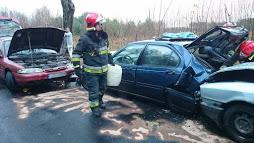 Zderzenie czterech samochodów koło Białogardu