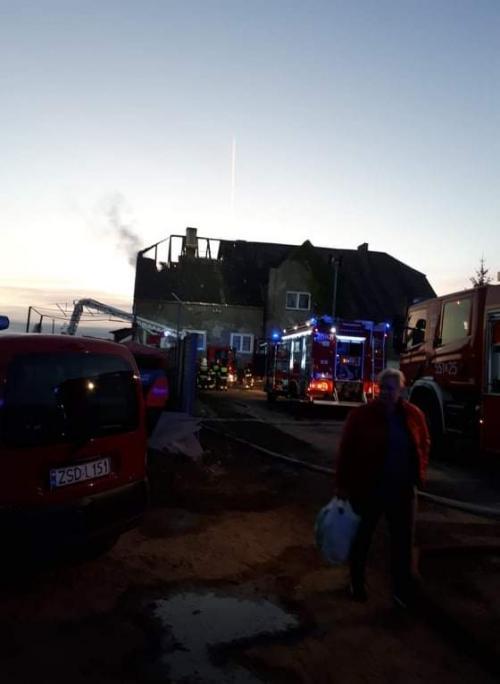 Policjant z Białogardzkiej komendy stracił dach nad głową w wyniku pożaru  - trwa zbiórka pieniędzy!