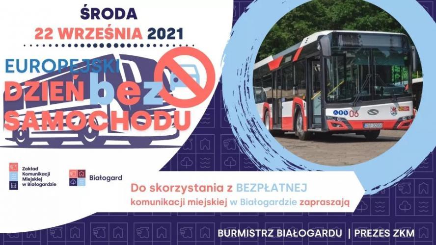 W Białogardzie Dzień bez Samochodu - 22 września