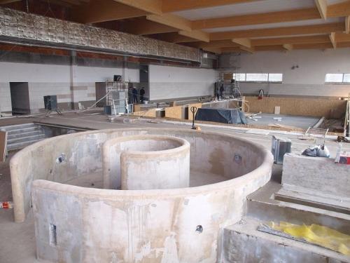 Budowa basenu - GALERIA