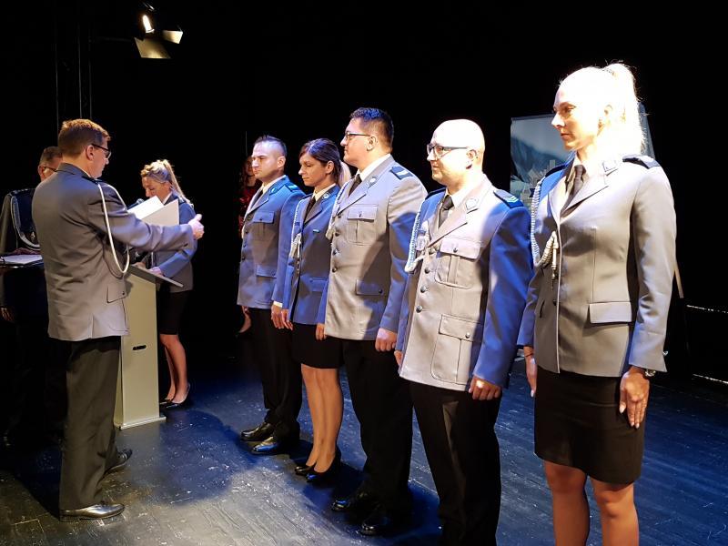 Święto Policji Białogard 2018 - awanse służbowe (fotorelacja)