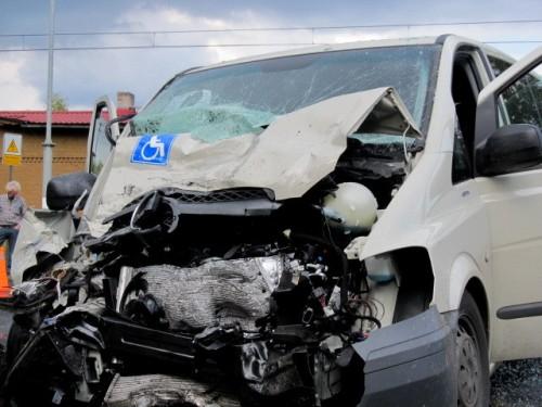 Wypadek w Moczyłkach