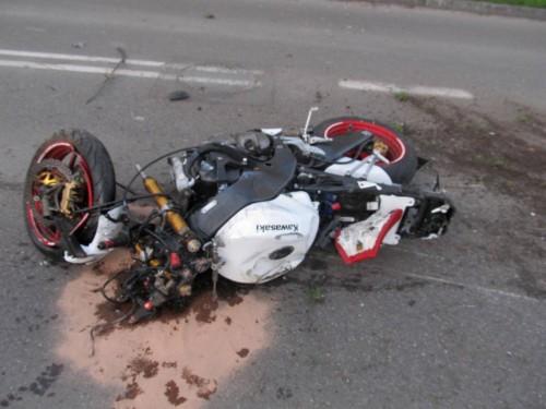 Wypadek na 1-go Maja w Białogardzie.