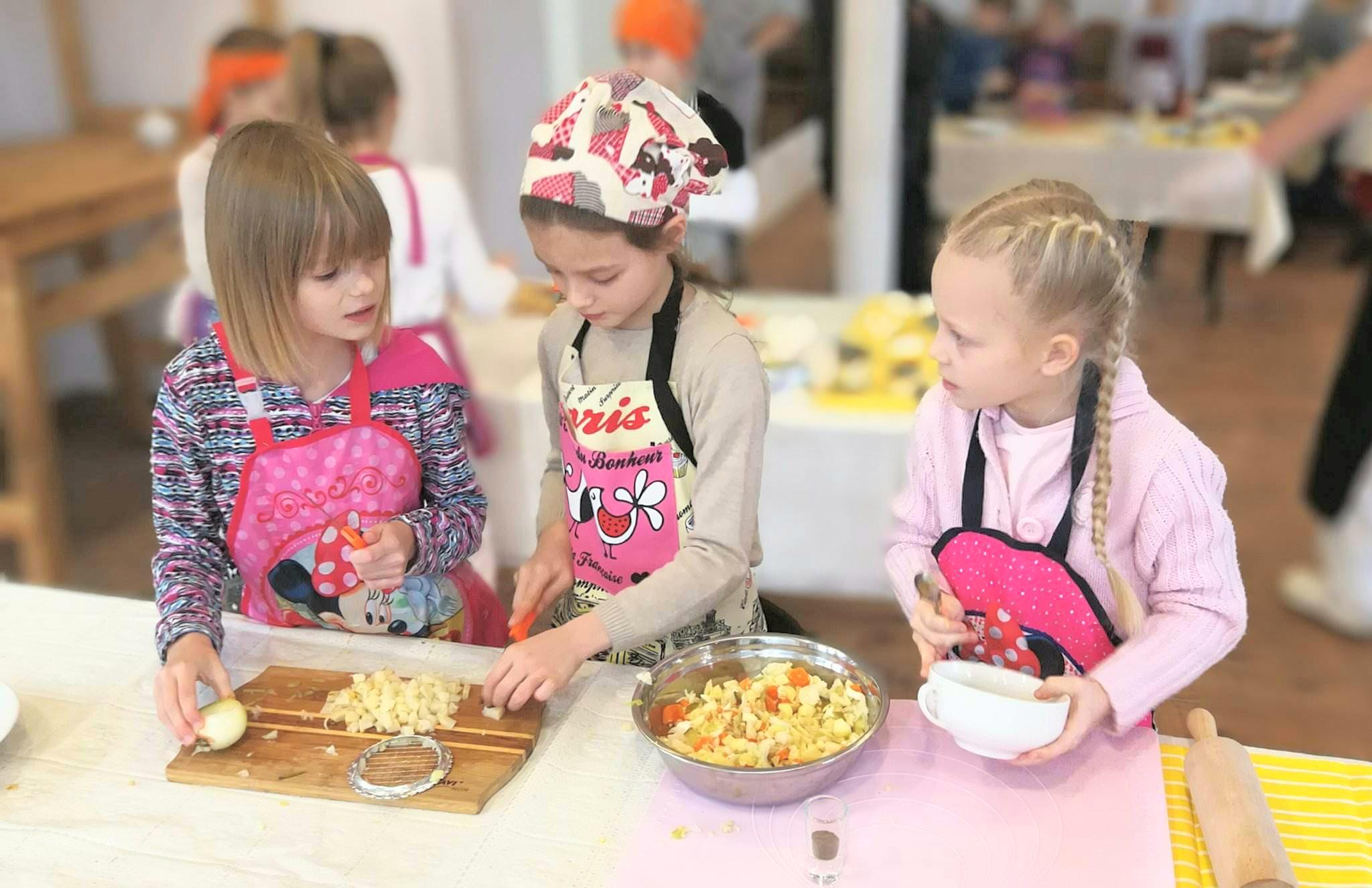 Odkrywamy talenty - Czyli warsztaty kulinarne dla najmłodszych.