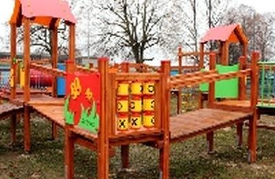 Nowy plac zabaw w Białogardzie