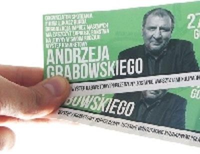 UWAGA! Andrzej Grabowski w BIAŁOGARDZIE