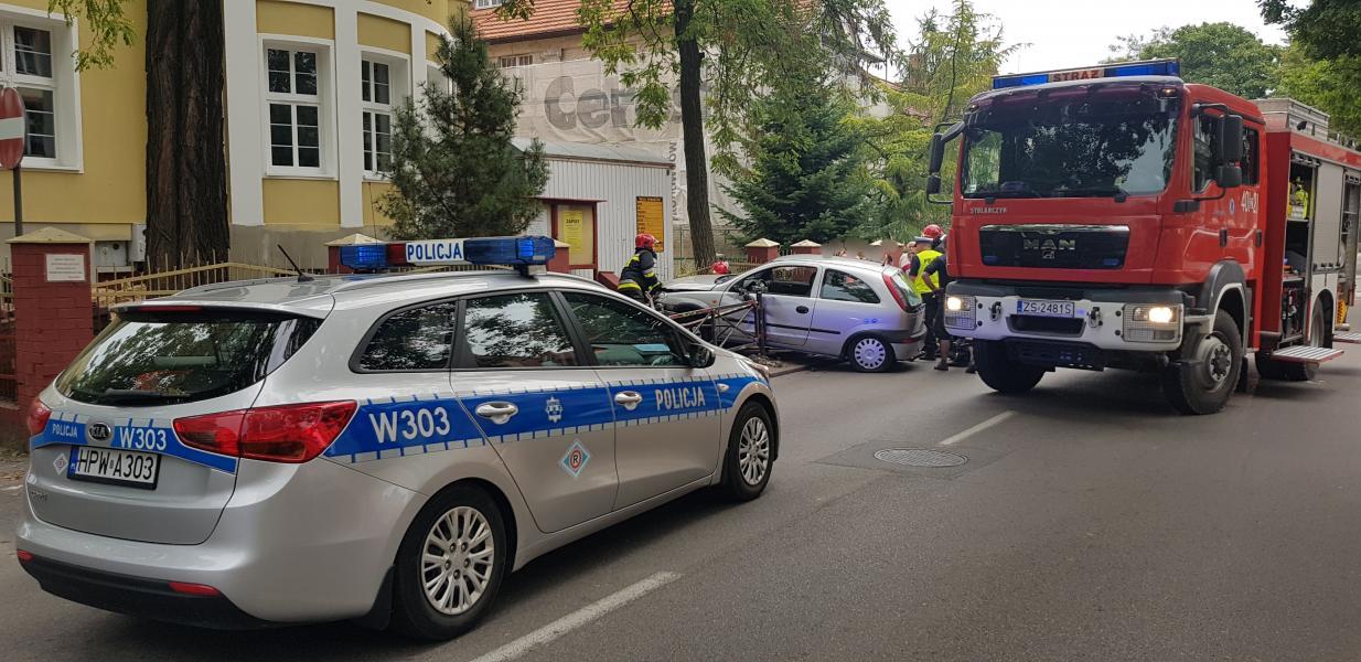 Poważny wypadek w centrum Białogardu