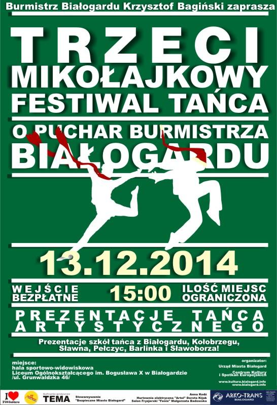 Mikołajkowy Festiwal Tańca