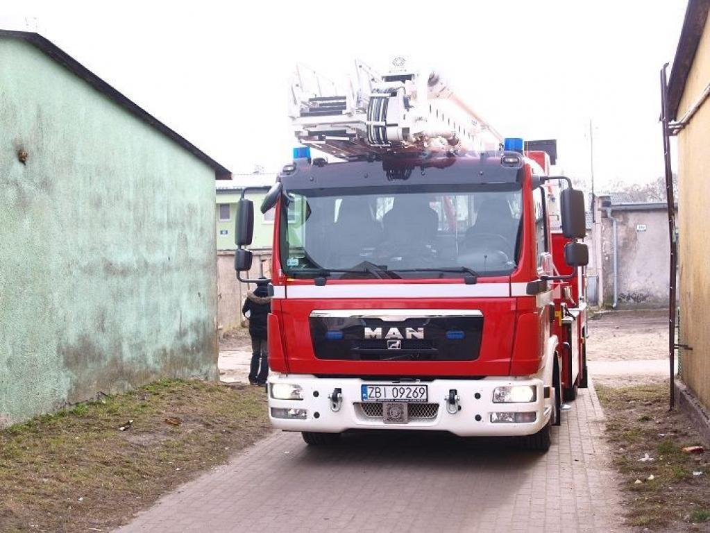 Kolejny wyjazd Straży Pożarnej do pacjenta