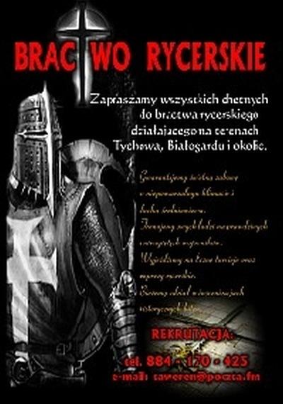 Bractwo Rycerskie – rekrutacja