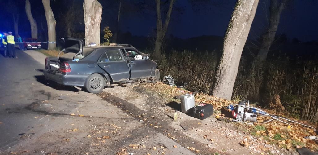 Tragiczny wypadek pod Białogardem - 3 osoby poniosły śmierć!