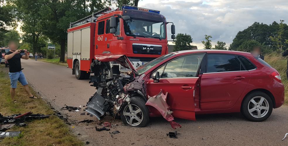 Brawura i nadmierna prędkość przyczyną wypadku pod Białogardem