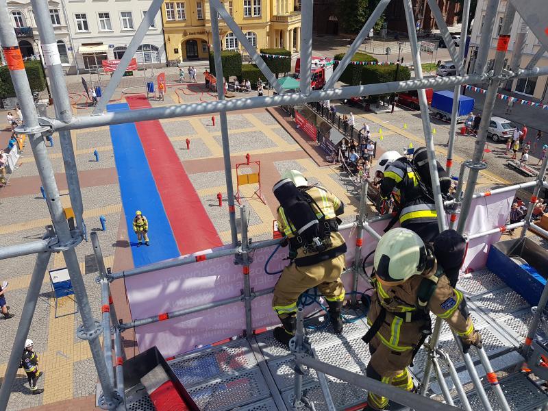 Strażackie zmagania na Placu Wolności w Białogardzie. Wyniki! Mega porcja zdjęć!