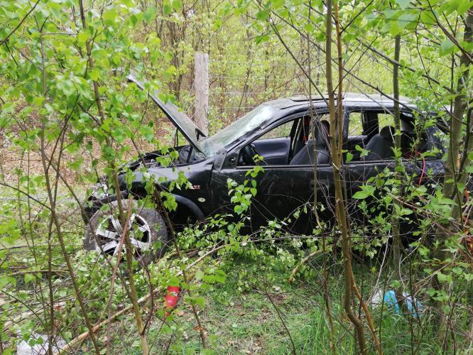 Tragiczny wypadek w lesie pod Białogardem! Nie żyje 17latek!