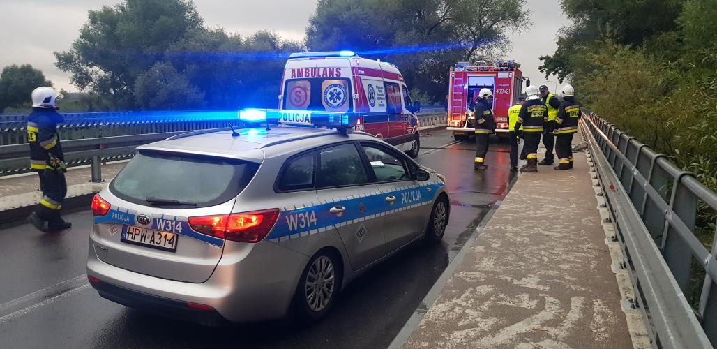 Wypadek w Karlinie - jedna osoba ranna!