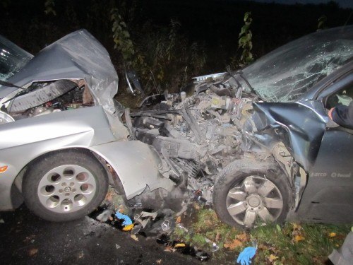 Wypadek koło Pomianowa