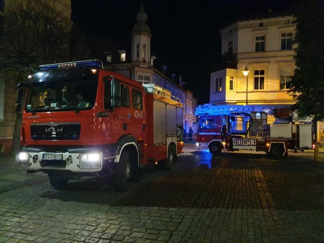 Groził że wysadzi budynek w powietrze - Do akcji ruszyli policjanci i straż pożarna!