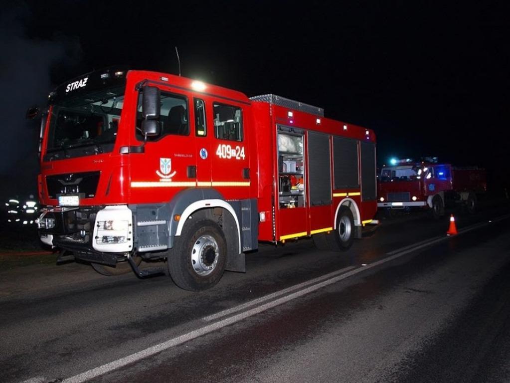 Seria podpaleń na terenie powiatu Białogardzkiego