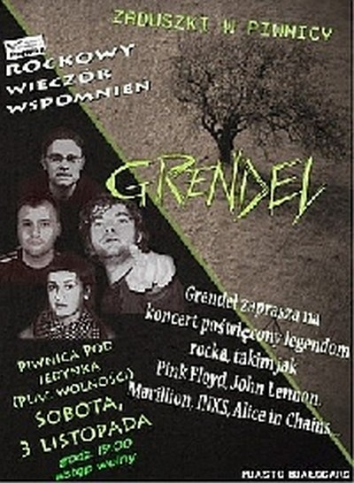 Koncert zespołu rokowego GRENDEL