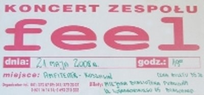 Koncert Zespołu FEEL.
