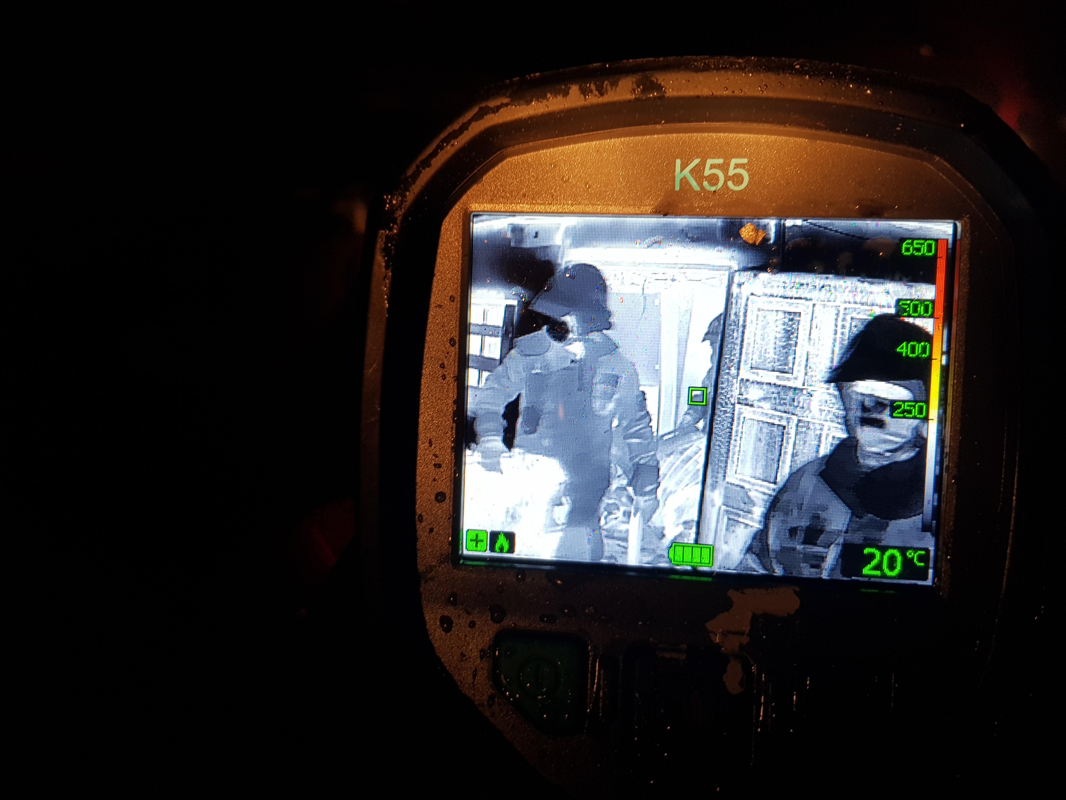 Nowa kamera termowizyjna w PSP Białogard. Bojowy test w pożarze już pierwszego dnia!