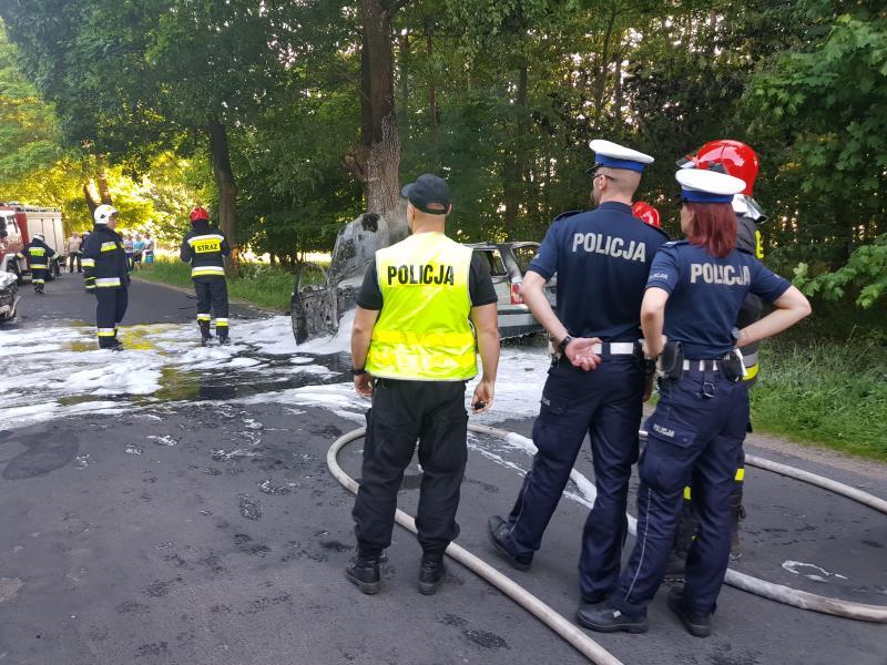 Poważny wypadek pod Białogardem, droga Białogard - Stanomino zamknięta!