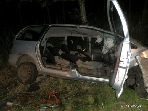 Śmiertelny wypadek na drodze do Stanomina.
