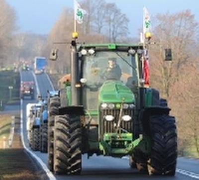 Uwaga - rolnicy znów zablokują droge numer 6