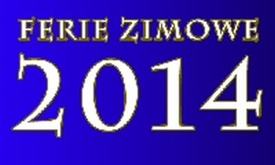 FERIE 2014 w Centrum Kultury