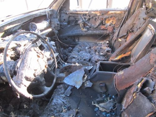 Pożar samochodu w Białogardzie
