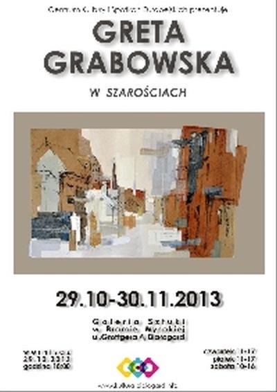 Wystawa prac Grety Grabowskiej