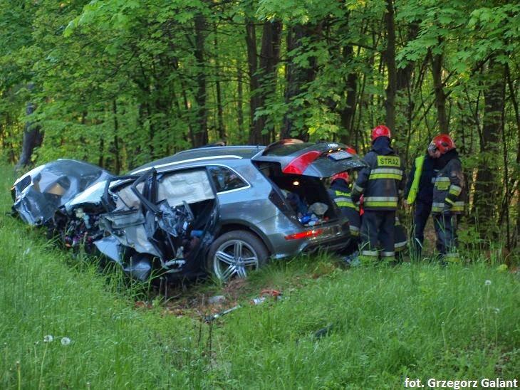 Wypadek w Przegoni