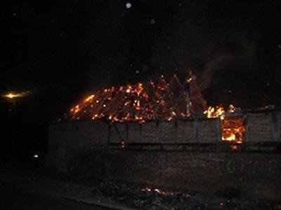 Pożar w Lulewicach - ZDJĘCIA