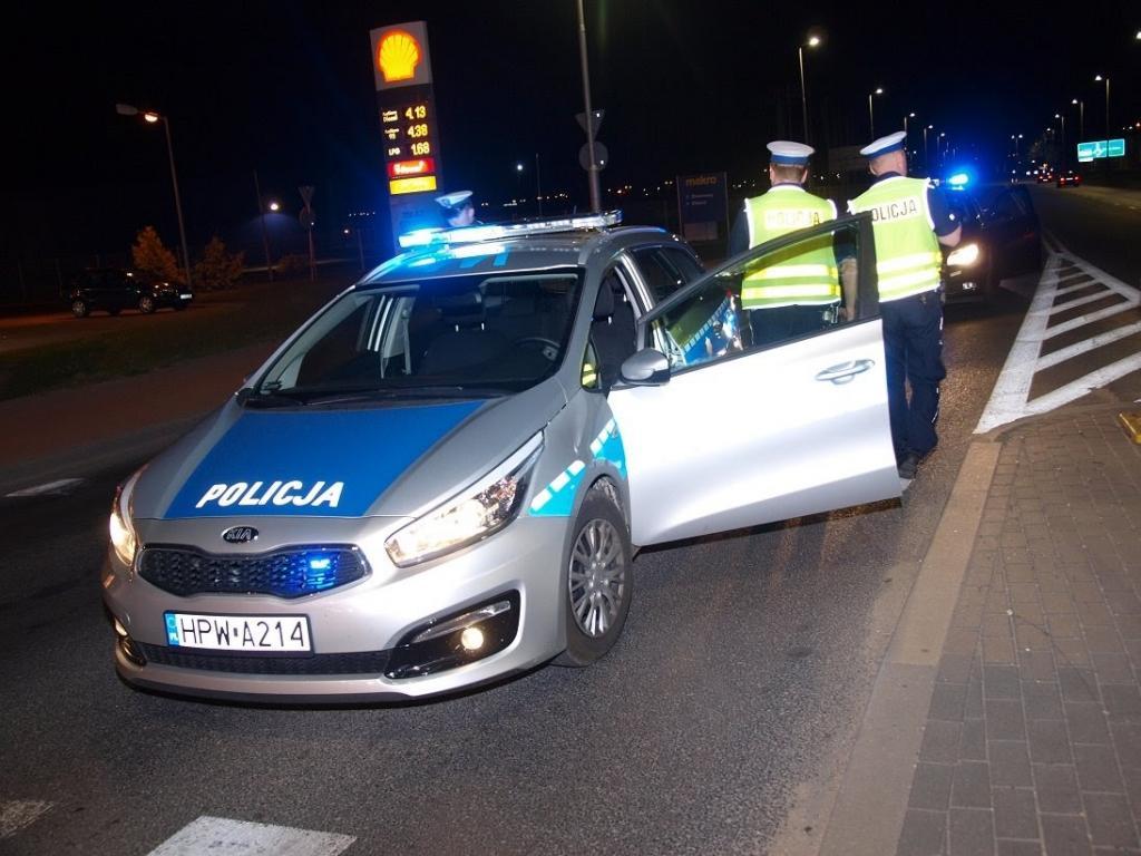Policyjny pościg, aż do Koszalina