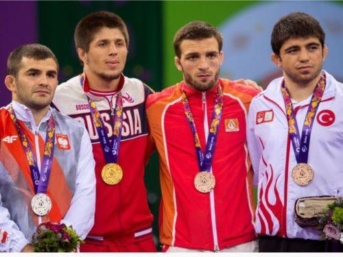 Medale na Igrzyskach w Baku