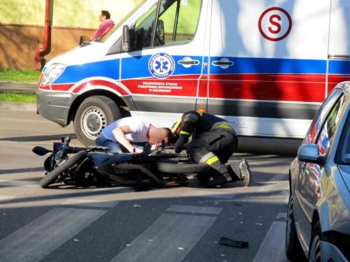 Kolejny wypadek na 1-go Maja