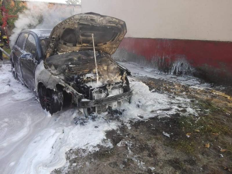 Podpalił auto sąsiada warte 70tys zł  - sprawca został zatrzymany.