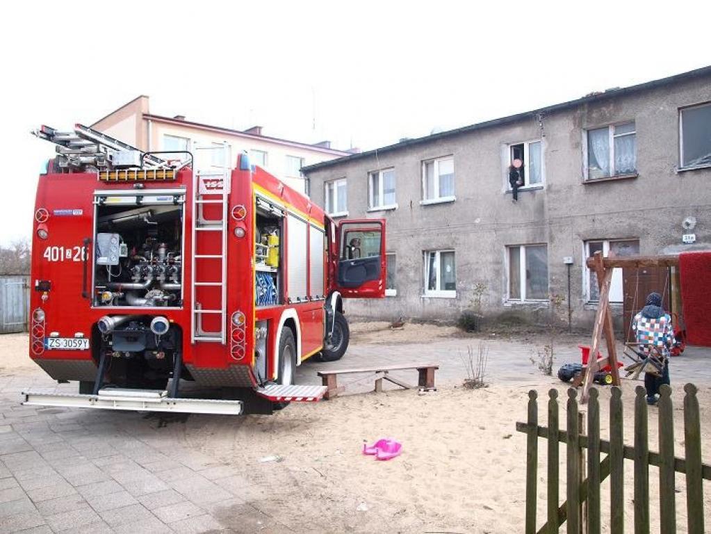 Pożar w trakcie trwania libacji alkoholowej?