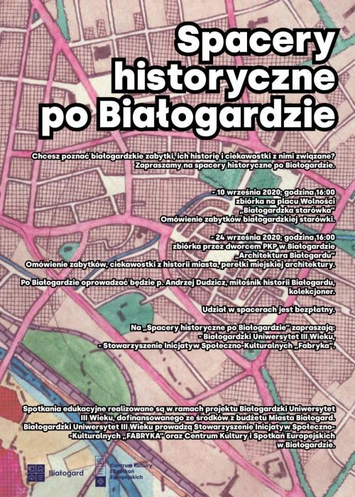 Spacery historyczne po Białogardzie